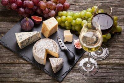 Bild Wein und Käse