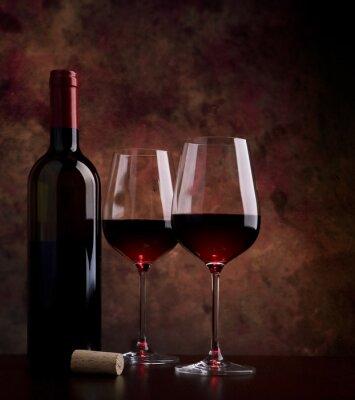 Bild Weingläser auf dem Tisch