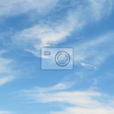 Bild Weiße Wolken im Himmel