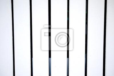 Bild Weißen Zaun