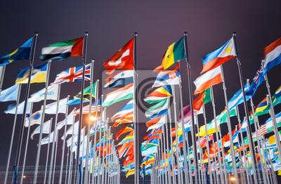 Bild Welt Nationalflaggen