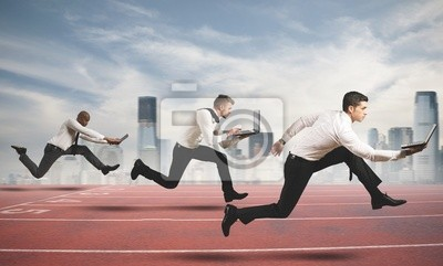 Bild Wettbewerb in der Wirtschaft