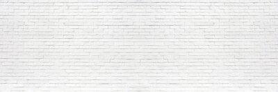 Bild white brick wall may used as background
