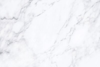 Bild White marble texture with natural pattern for background.