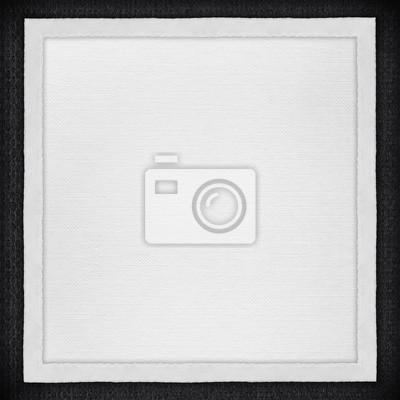 Bild White Paper-Hintergrund in weißen Leinwand Rahmen
