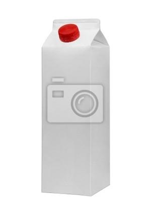 Bild white tetrapak
