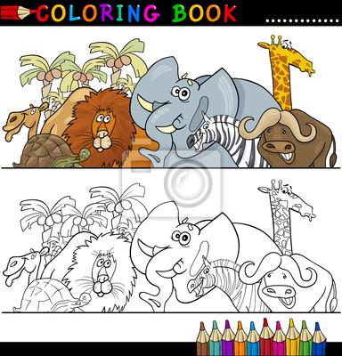 Tolle Zootiere Die Bilder Färben Ideen - Ideen färben - blsbooks.com