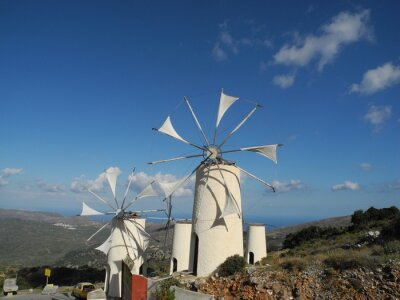 Bild Windmühle auf der Lassithi-Hochebene