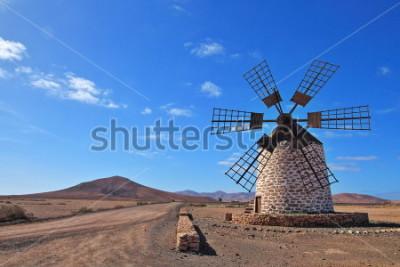 Bild Windmühle auf Fuerteventura, Kanarische Inseln, Spanien