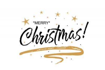Frohe Weihnachten Text Karte.Bild Winter Karte Frohe Weihnachten Schone Gruss Kratzte Kalligraphie