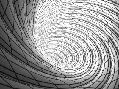 Bild Wired Vortex Background