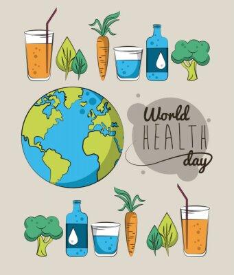 World healthy day card