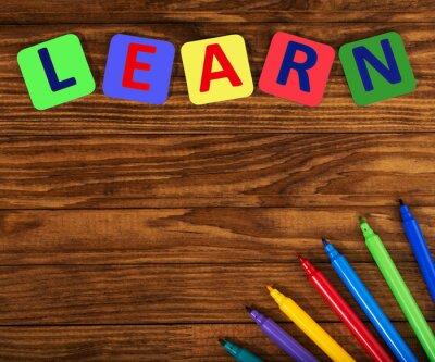 Bild Wort lernen