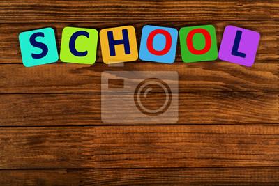 Wort Schule