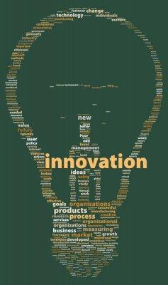 """Bild Worte der """"Innovation"""""""