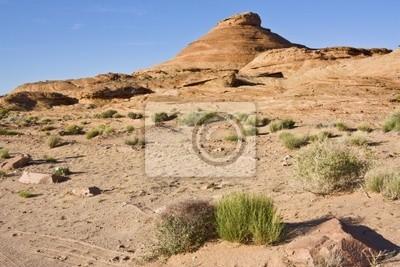 Wunderschöne Landschaft in Page, Arizona. Horizontale erschossen.