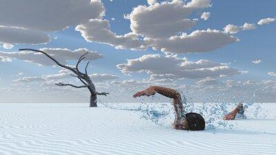 Bild Wüstensand schwimmt