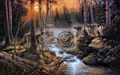 Bild Стая волков