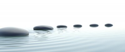 Bild Zen-Weg der Steine im Breitbildformat