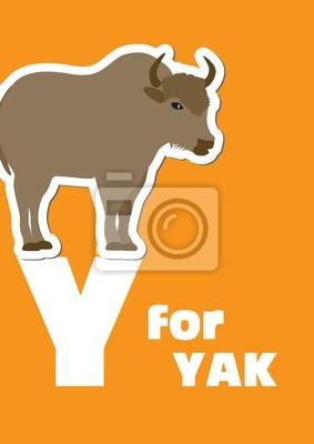 Y für die Yak, ein Tier-Alphabet für Kinder