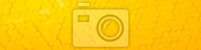 Bild yellow hexagon background