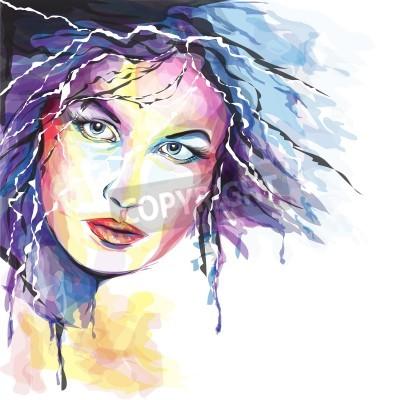 Bild Young woman portait