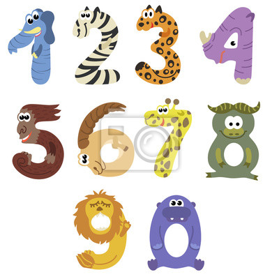 Tiere Aus Zahlen