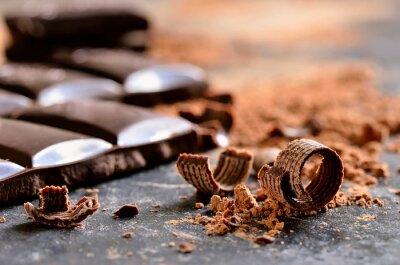 Bild Zartbitter-Schokolade