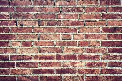 Bild Zbliżenie na stary mur z cegieł