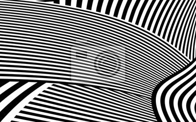 Bild Zebra Design Schwarz Weiß Streifen Vektor