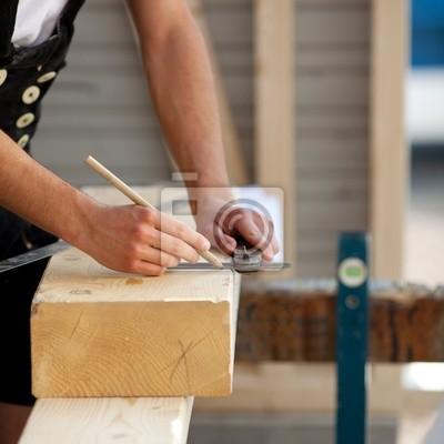 Zeichnet ein bauarbeiter
