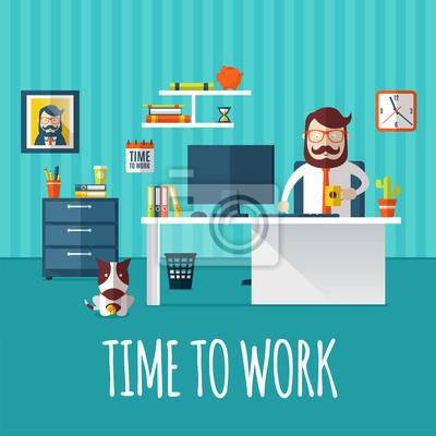Zeit zum Arbeiten