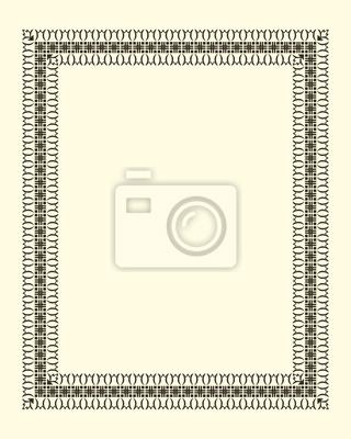 Bild Zierrahmen vintage
