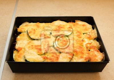 Zucchini Kartoffeln oder Kartoffelgratin
