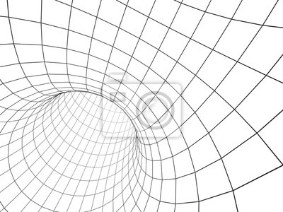 Zusammenfassung 3D-Tunnel aus einem Raster