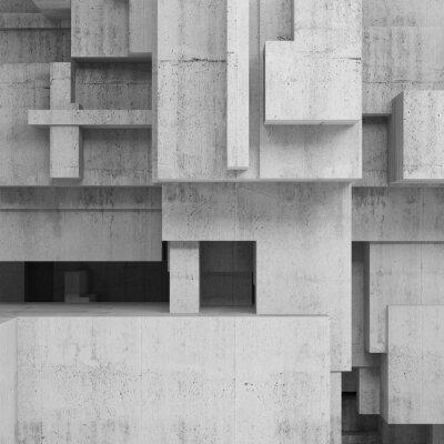 Bild Zusammenfassung Betonstrukturen, quadratischen Hintergrund