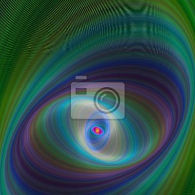 Zusammenfassung bunten elliptischen geometrischen digitalen Hintergrund