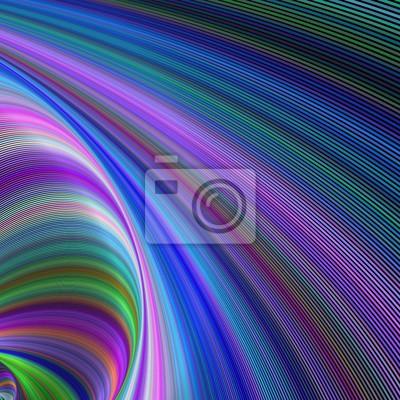 Zusammenfassung bunten gebogenen geometrischen digitalen Hintergrund