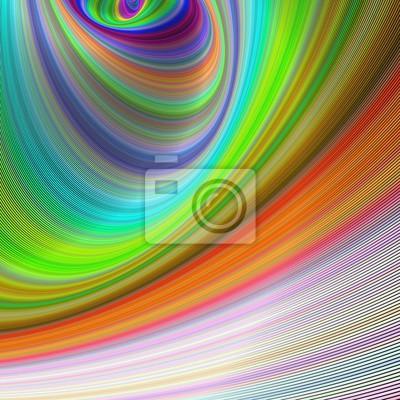 Zusammenfassung bunten gebogenen geometrischen Hintergrund