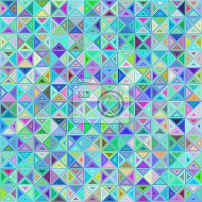 Zusammenfassung Dreieck Mosaik Hintergrund Design