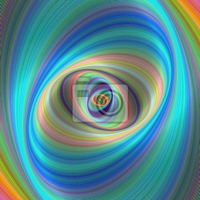 Zusammenfassung elliptischen geometrischen digitalen Hintergrund
