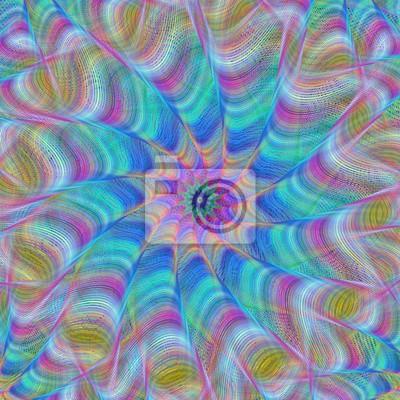 Zusammenfassung Fractal Swirl Design Hintergrund