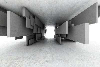 Bild Zusammenfassung geometrischen Hintergrund