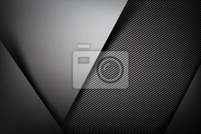 Bild Zusammenfassung Hintergrund dunkel mit Kohlefaser Textur Vektor illust