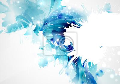 Bild Zusammenfassung künstlerischen Hintergrund bildet durch Blots