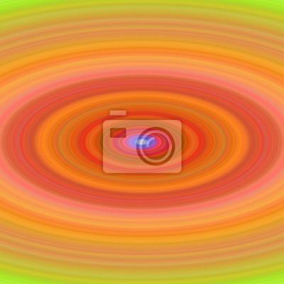 Zusammenfassung orange Ellipse Hintergrund