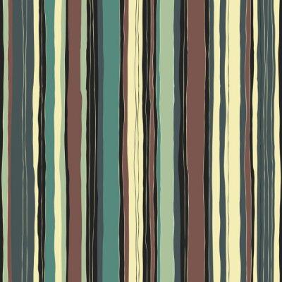 Bild Zusammenfassung Retro-Farben Streifen Muster. Nahtlose handgezeichneten Linien