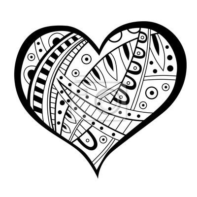Poster Herz Muster Pixers Wir Leben Um Zu Verandern 4