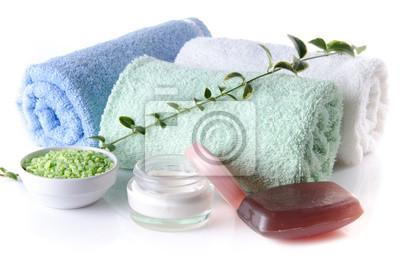 Bild Zusammensetzung der Hygiene-und Wellness-Zubehör