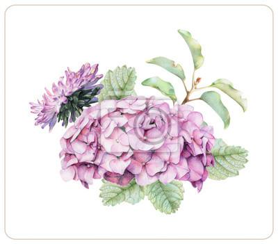 Zusammensetzung Der Verschiedenen Frühlingsblumen Und Pflanzen